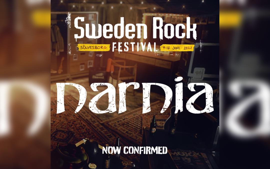 Narnia – Now confirmed for Sweden Rock Festival 2021